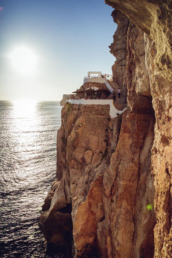 Cova den Xoroi pub, Menorca