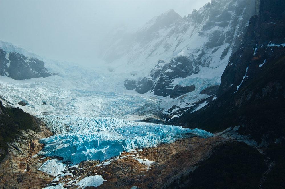 Serrano glaciar patagonia, Chile