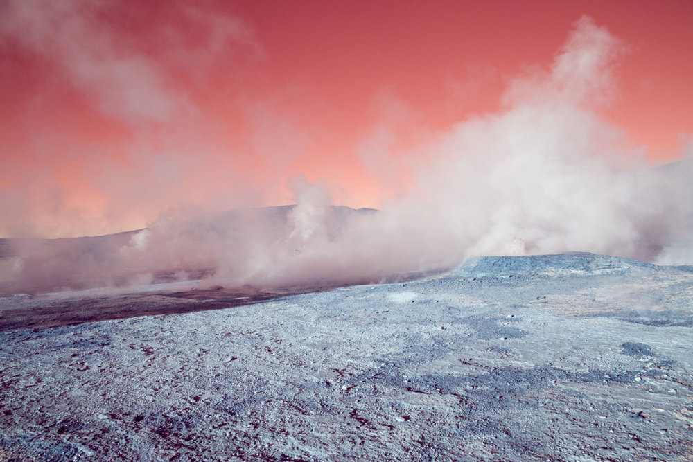 Geyser El Tatio, Chile