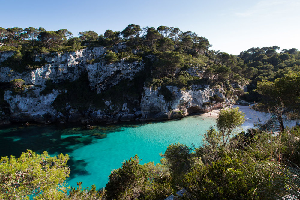 Menorca Cala Macarella, Spain
