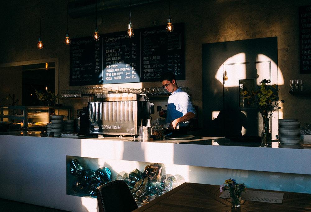 SmetanaQ Café & Bistro,  Prague