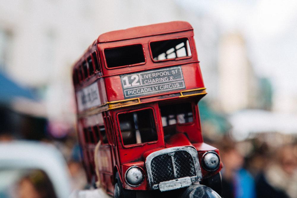 Portobello Market, London UK