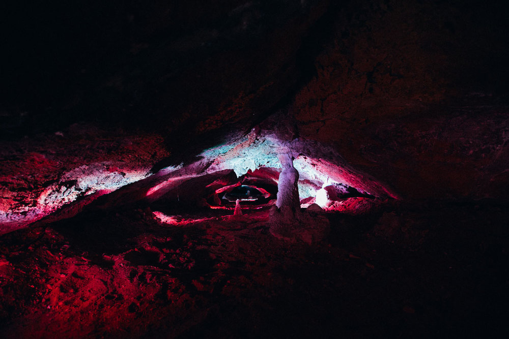 Cave in Cova d'en Xoroi, Menorca