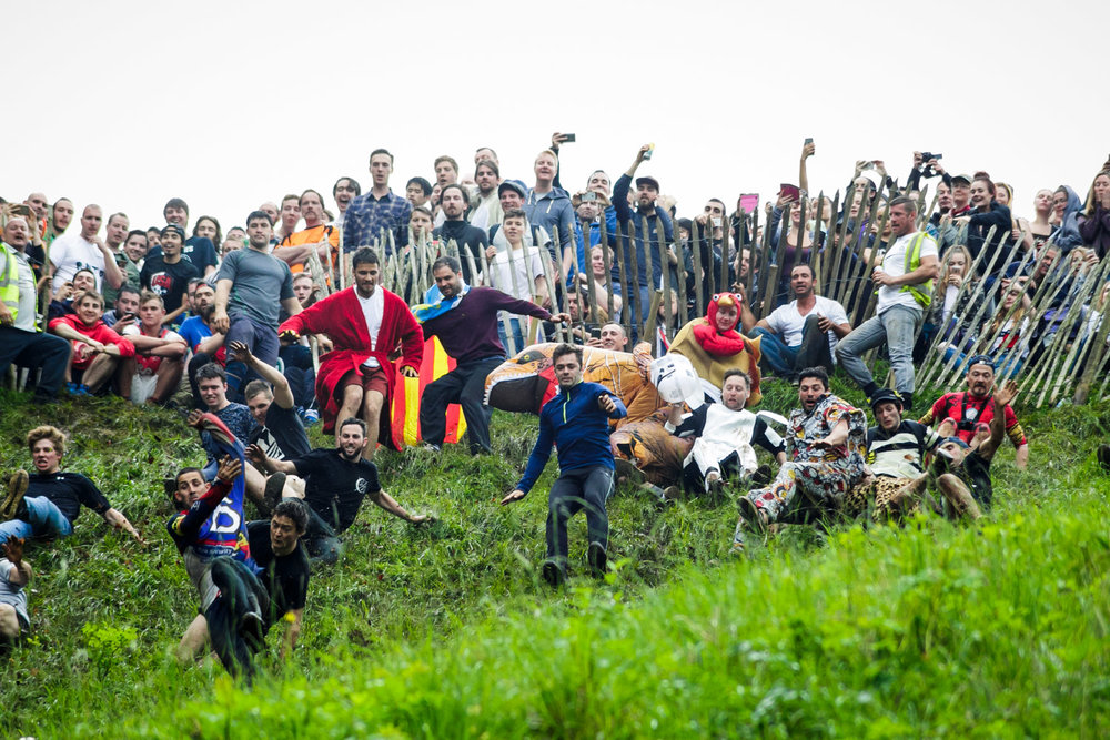 Cooper's Hill Cheese-Rolling  2017