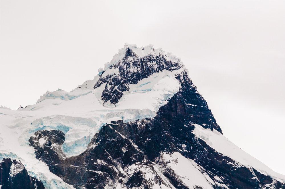 Serrano glaciar, Patagonia Chile