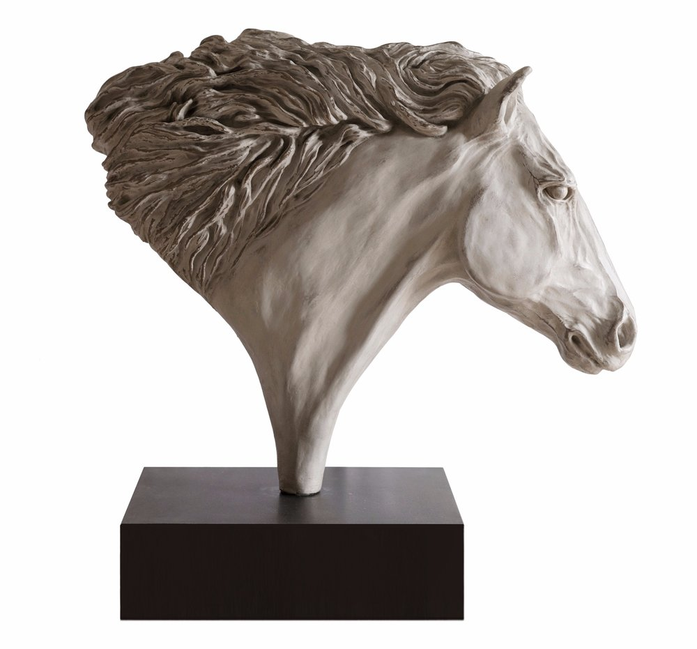 Stallion, antique white bronze finish.jpg