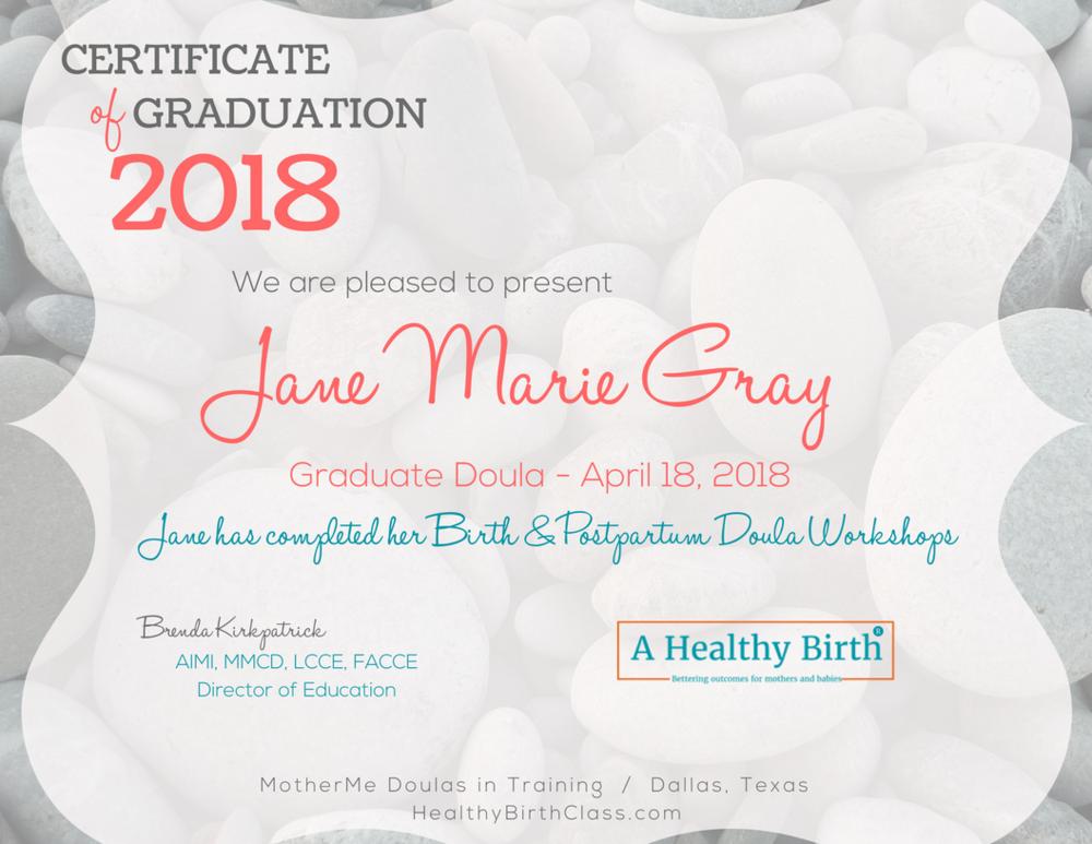 2018 Graduate Certificate.png