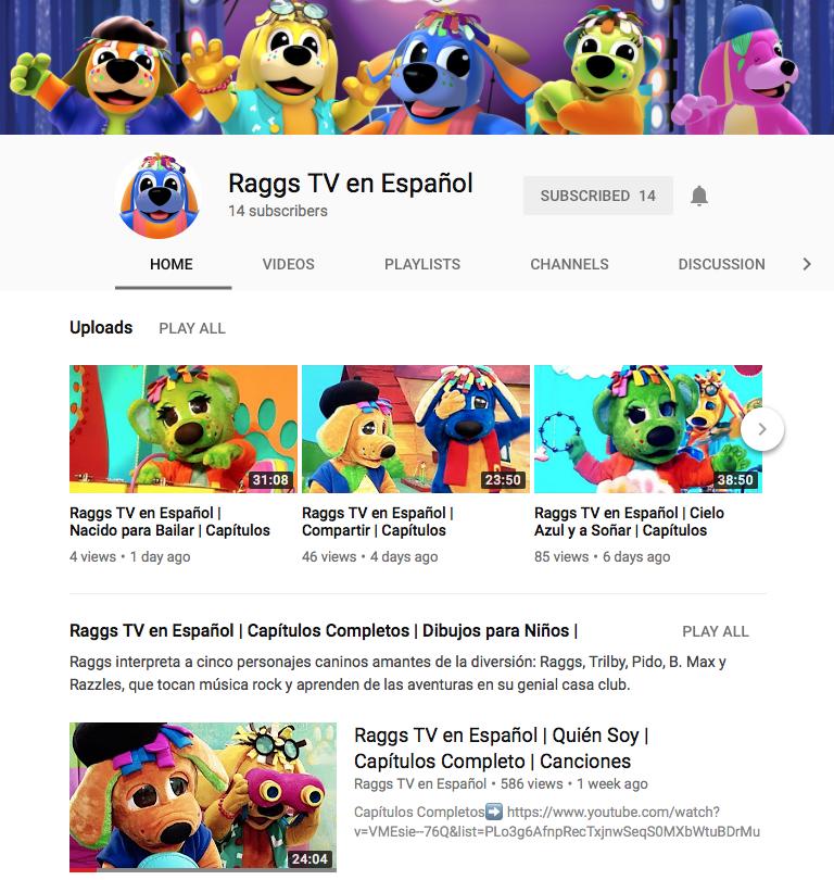 Raggs TV en Español