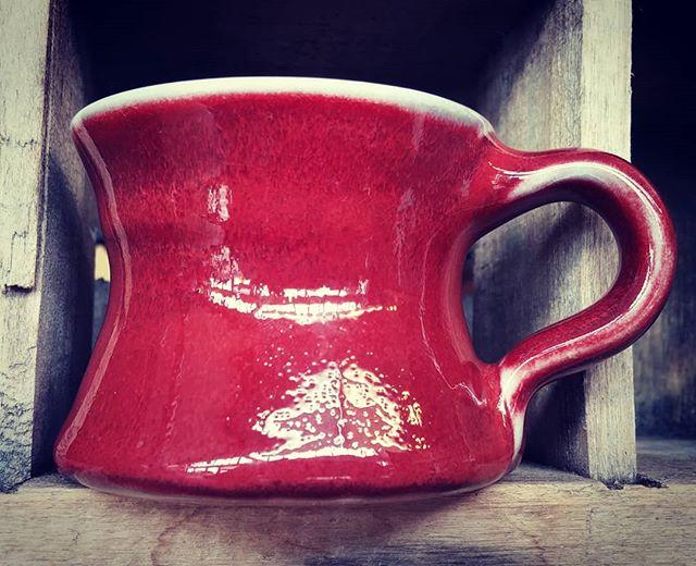 Mini mug for Monday.  #mug #mugshotmonday #mondaysmug #mugmonday #coffeemug #potterymug #pottery #ceramics #sculpture #handmadepottery #craftsmen #craftswoman #tea #teamug #santacruzpottery
