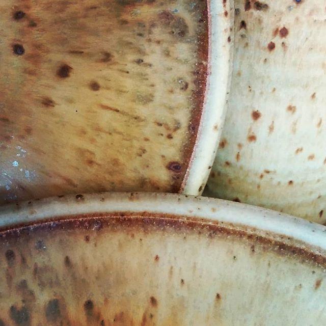 Close up.  #pottery #ceramics #clay #fire #kiln  #santacruzpottery  #santacruzca #handmadepottery