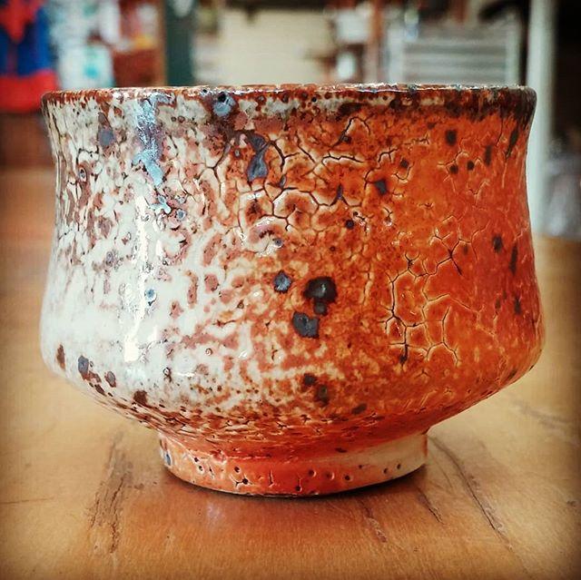 Shot glass.  #pottery #ceramics #clay #shotglass #whiskeycup #teacup #santacruzpottery #santacruzca