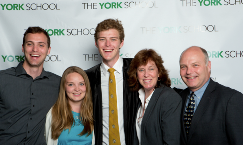 Michael '11, Shannon '10, William '14, Liz and Michael O'Dwyer