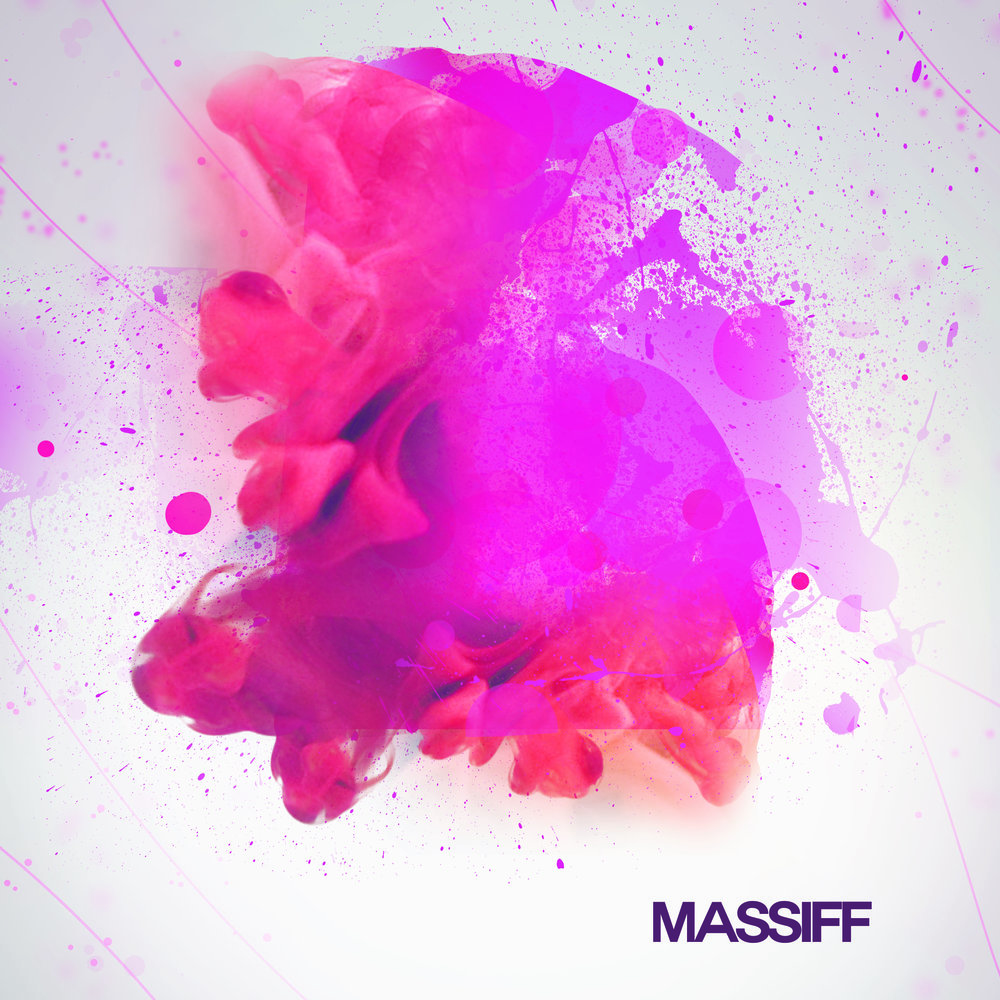 Massiff album cover design by Fotini Christophillis