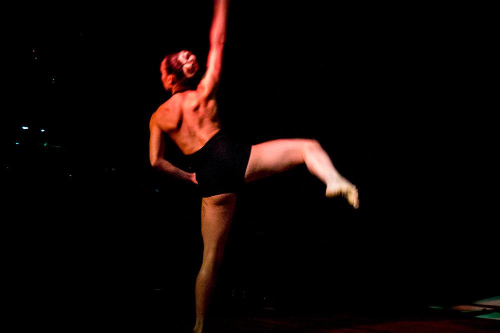 Odessa Anderson, dancer
