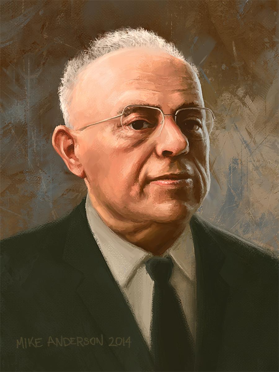 Stanislaw Lem Portrait