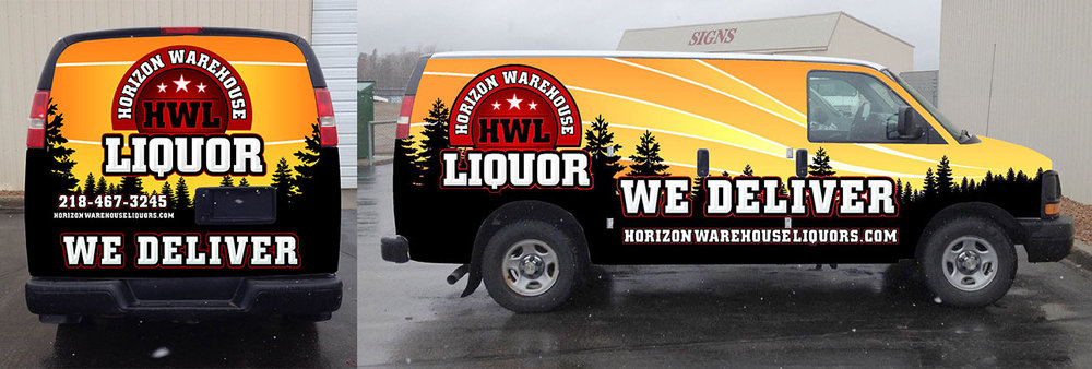 Horizon Warehouse Liquor Delivery Van