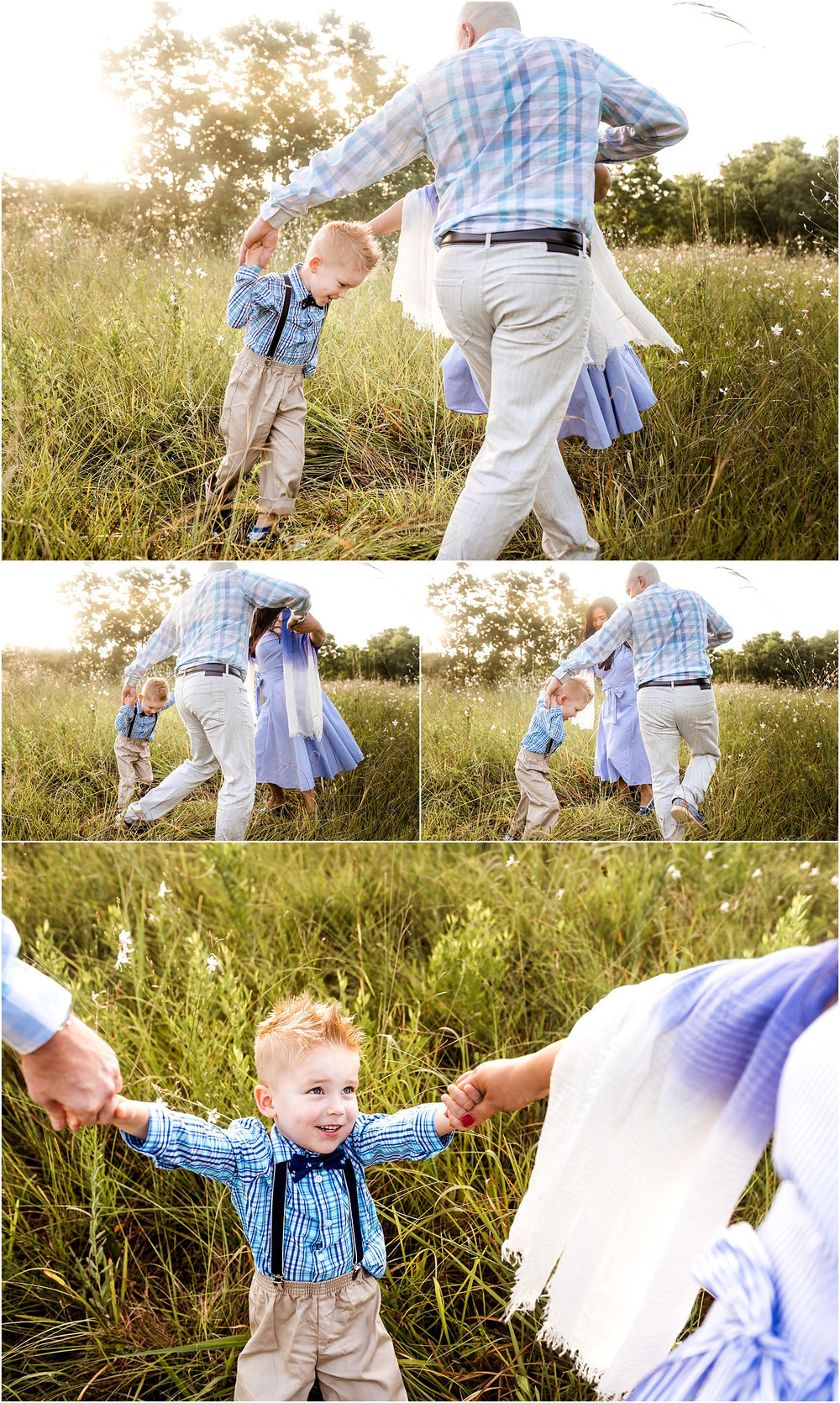 Houston, TX Family Photography featuring beautiful morning light. This sunrise session captures light, love, connection, and cuddles.