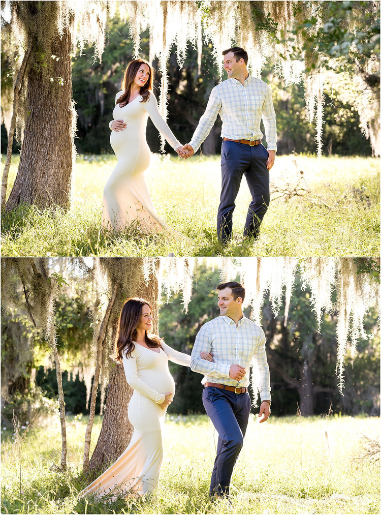 f5a9e8d397070 Houston, TX Outdoor Maternity Session with Golden Light, Mossy Trees, Texas  Bluebonnets,