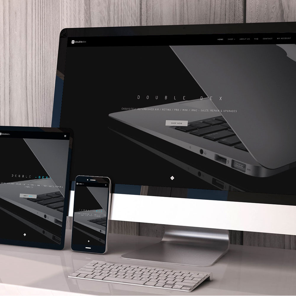 Website Development - We offer websites with a tailored design and offer designs tailored for your industry.