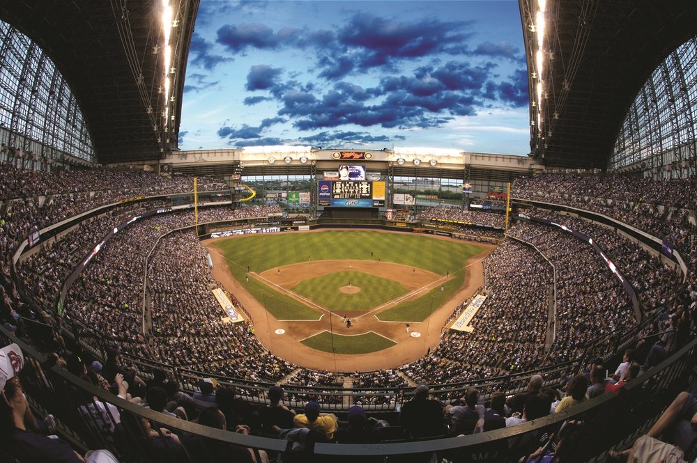 Miller Park - Experience the magnificence of Miller Park while enjoying an exclusive tour that includes the dugout, luxury suite level, visiting clubhouse, press box, Bob Uecker's broadcast booth and other behind-the-scenes attractions!