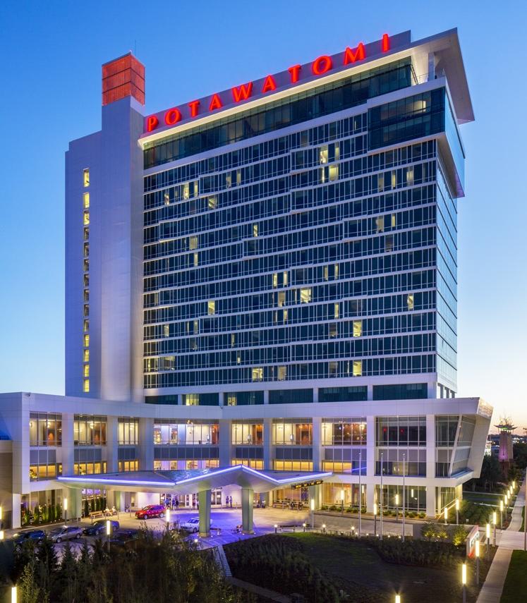 Potawatomi Hotel & Casino - Hotel · Casino · Dining · Shows · Promotions