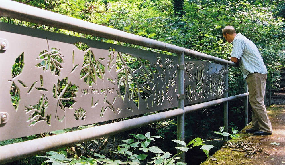 'By Water, Breathe' Katherine Kerr, 2004, Mahon Park, North Vancouver