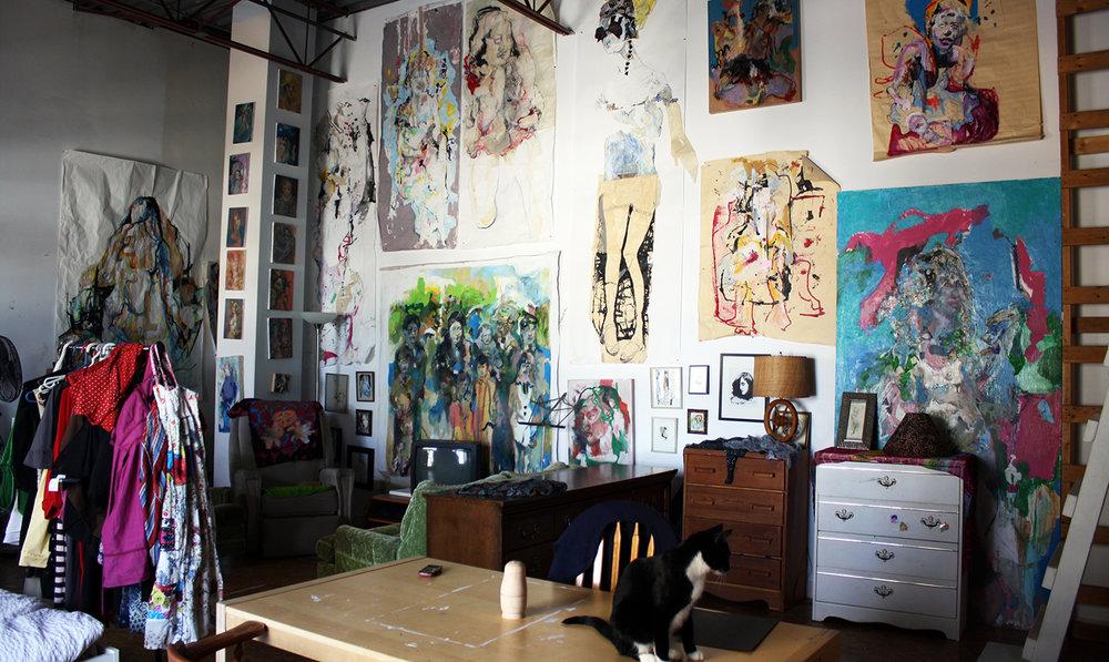 Artist live-work studio, Edmonton
