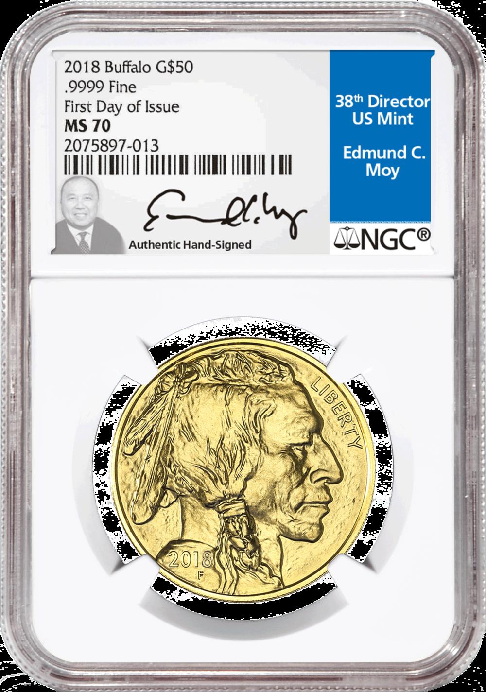 2018 $50 Buffalo Gold