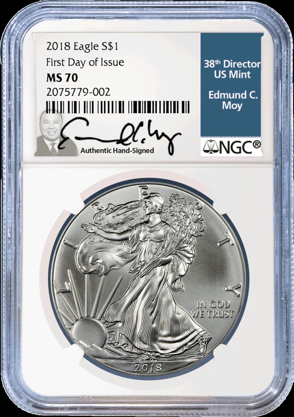 2018 $1 Eagle Silver