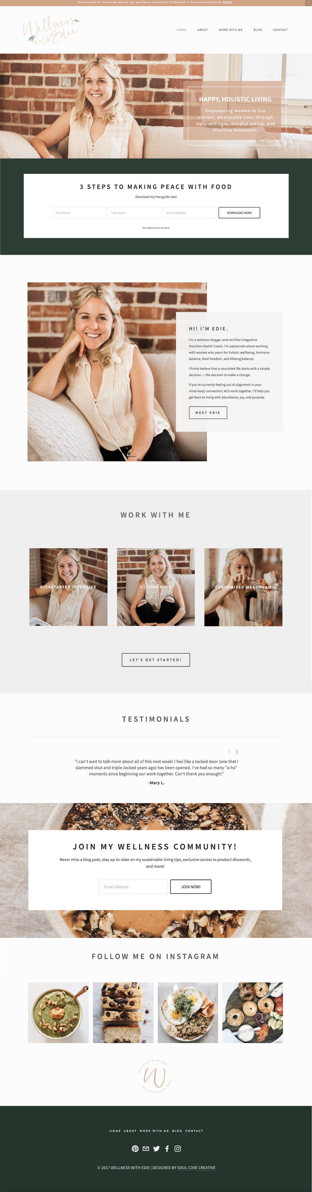 Edie's Website