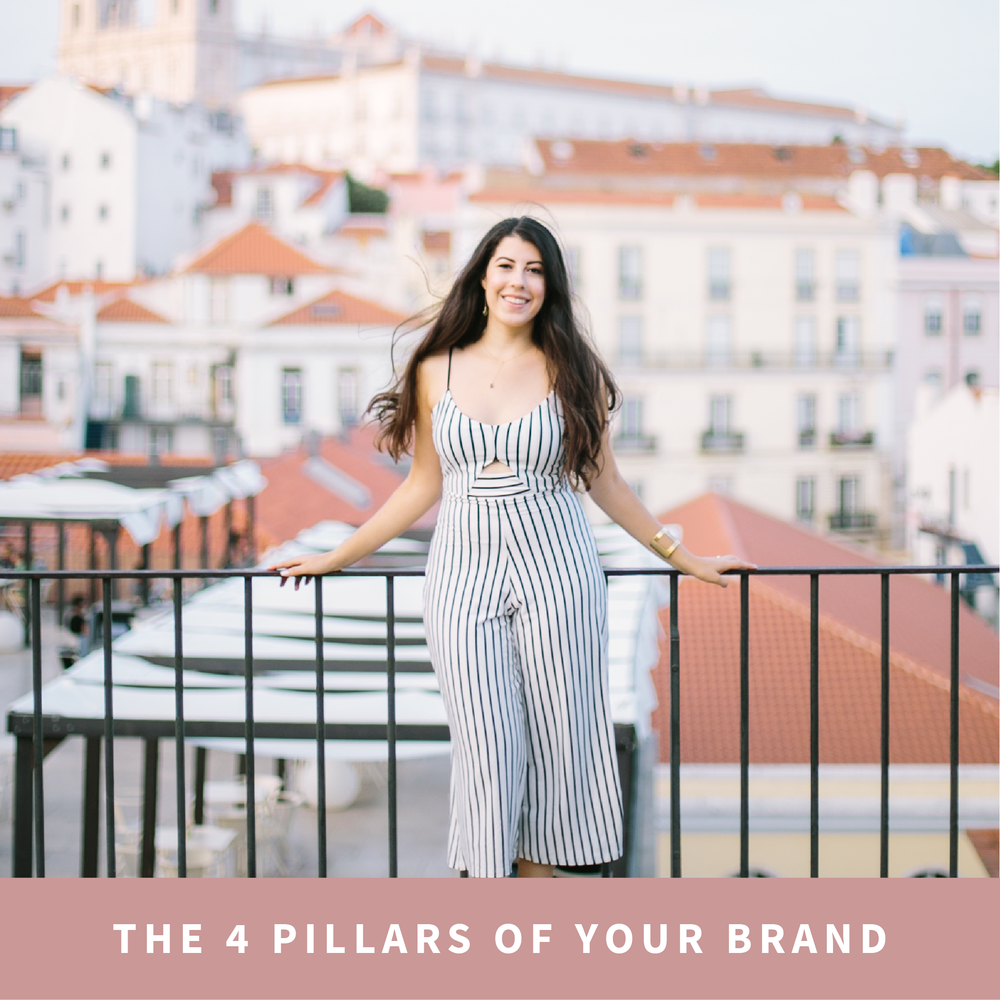 The 4 Pillars of your Brand