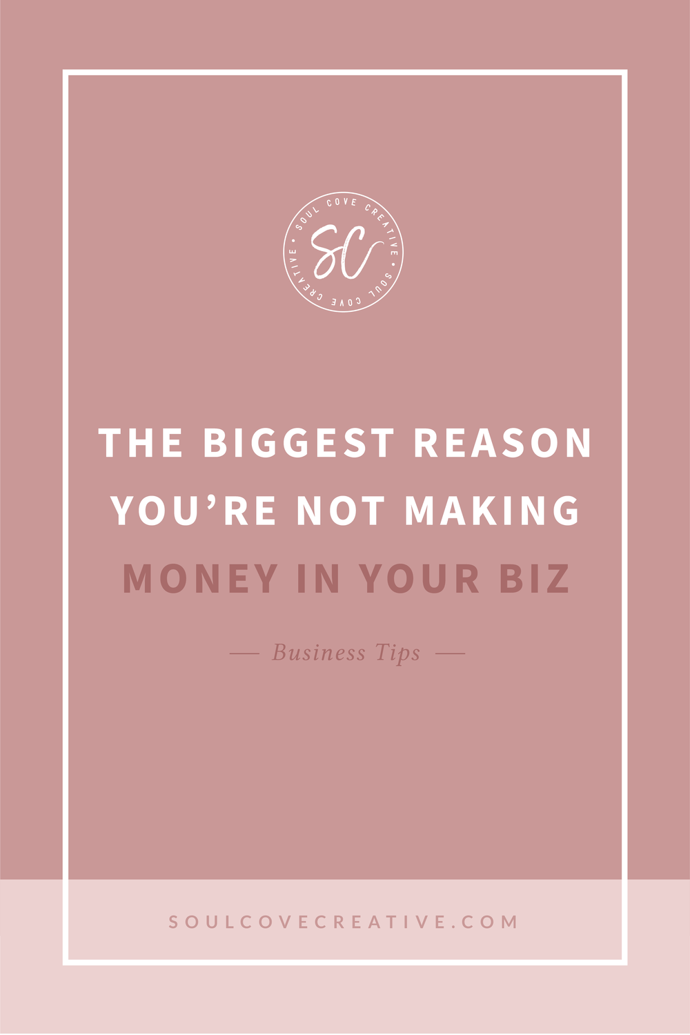 The biggest reason you're not making money in your biz