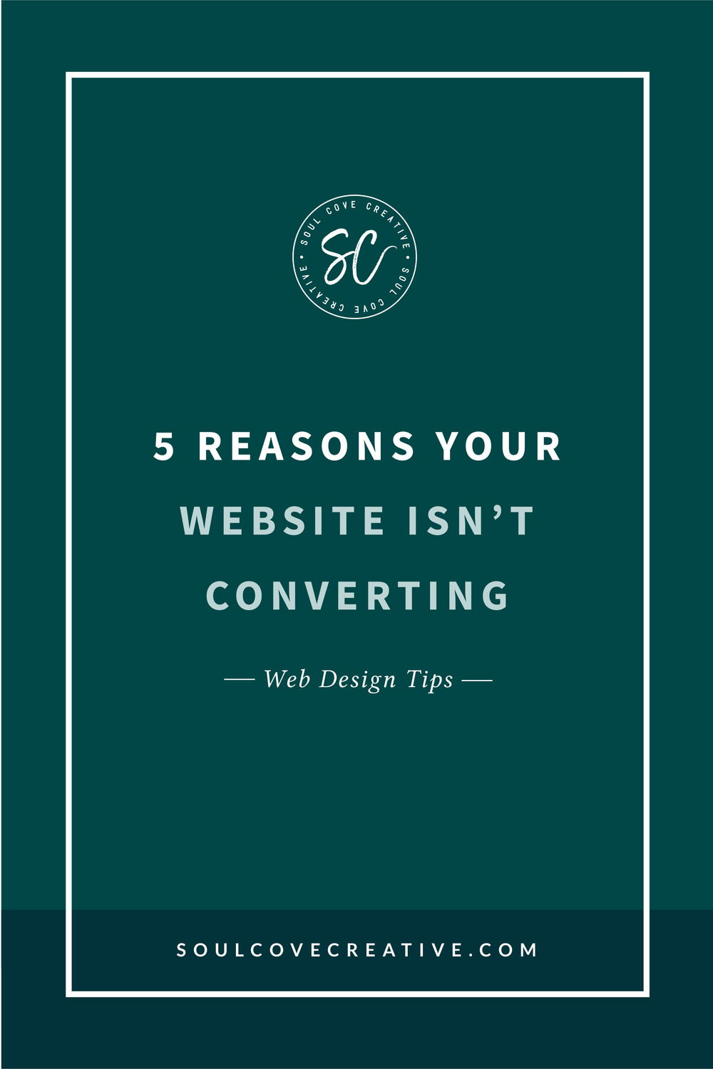 5 Reasons your Website Isn't Converting