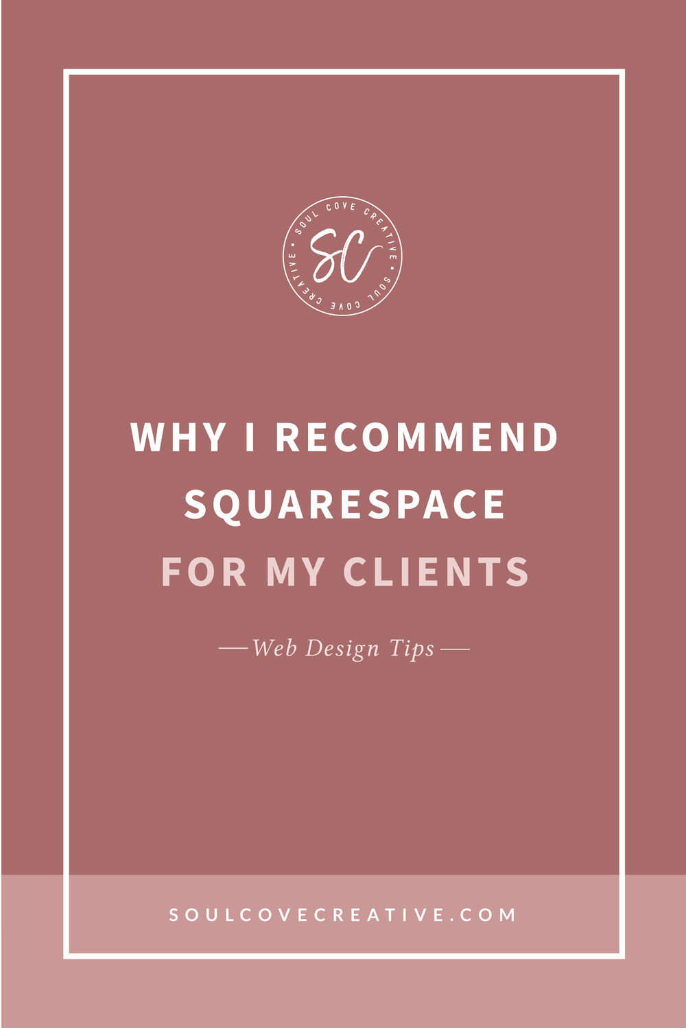 Why I Recommend Squarespace for My Clients