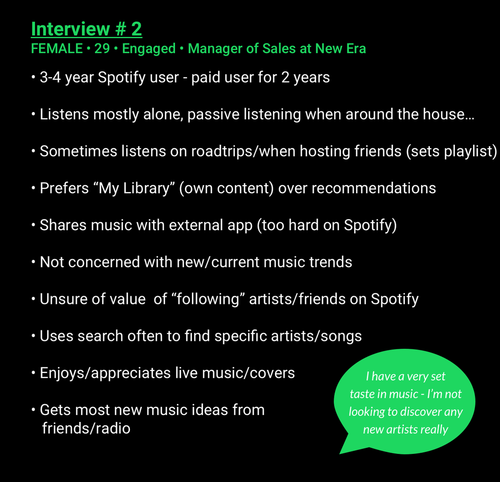 Spotify homepage ux strategy blueprint malvernweather Images