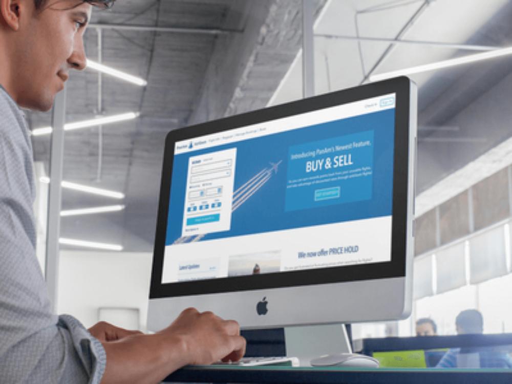 Pan Am Airlines: Buy & sell flight program