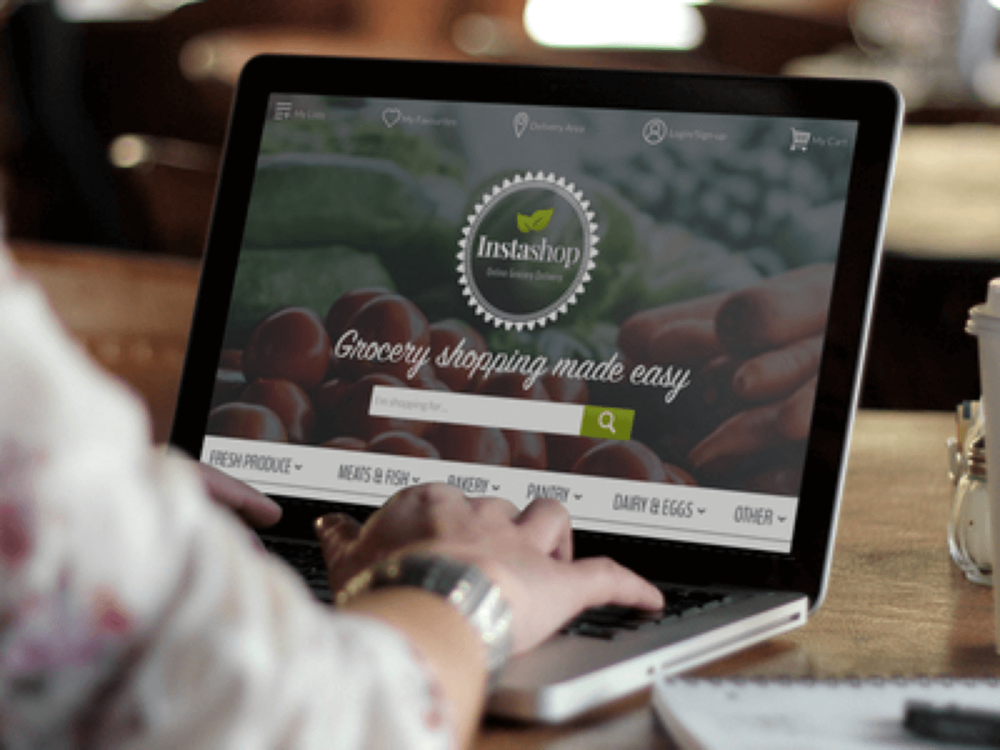Instashop: Online grocery shopping