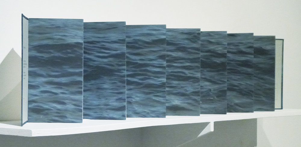 Sea and Sky II: Storm (left view)
