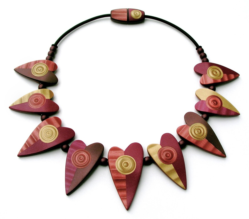 Nine Of Hearts Necklace by Dan Cormier 2004