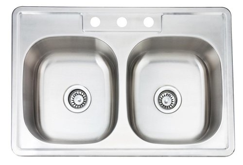 50/50 Top Mount Kitchen Sink — 5280 Supply Company