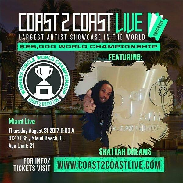 Coast 2 Coast Live - Shattah Dreams