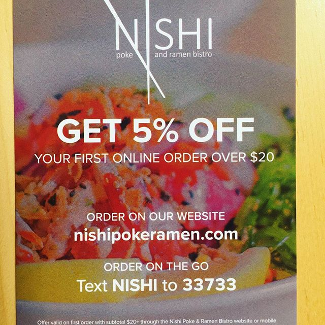 Get 5% off on your first online order!