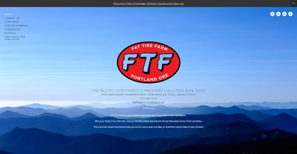Fat Tire Farm -