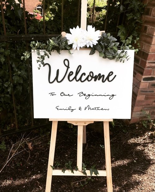 Wedding Decor Handcrafted Home And Wedding Decor White Wood