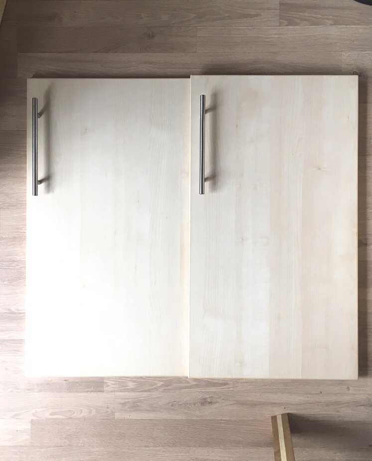 From these old laminate kitchen doors