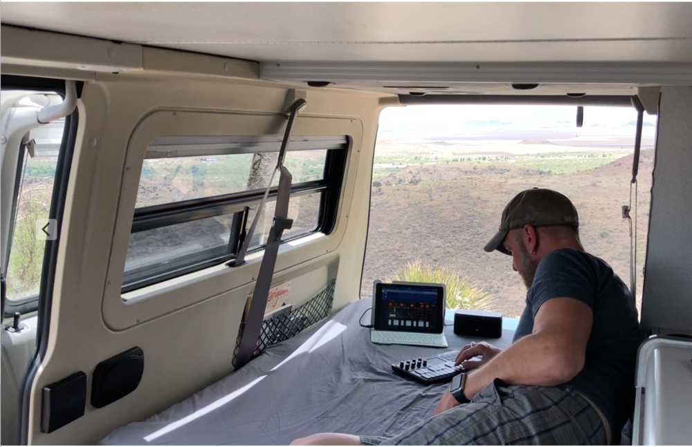 Mobile Recording - May 2018  #vanlife