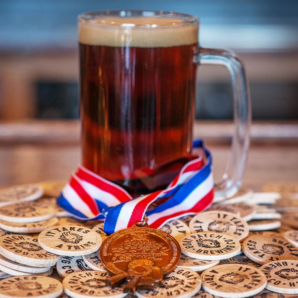BRONZE - GREAT AMERICAN BEER FESTIVAL (2018) FOR IT TAKES A TRIBE RED ALE - SIVER - ALL COLORADO BEER FESTIVAL (2018) FOR IT TAKES A TRIBE RED ALEPEOPLE'S CHOICE BEST BEER - HAUNTED BREW FEST (2017) FOR IT TAKES A TRIBE RED ALE