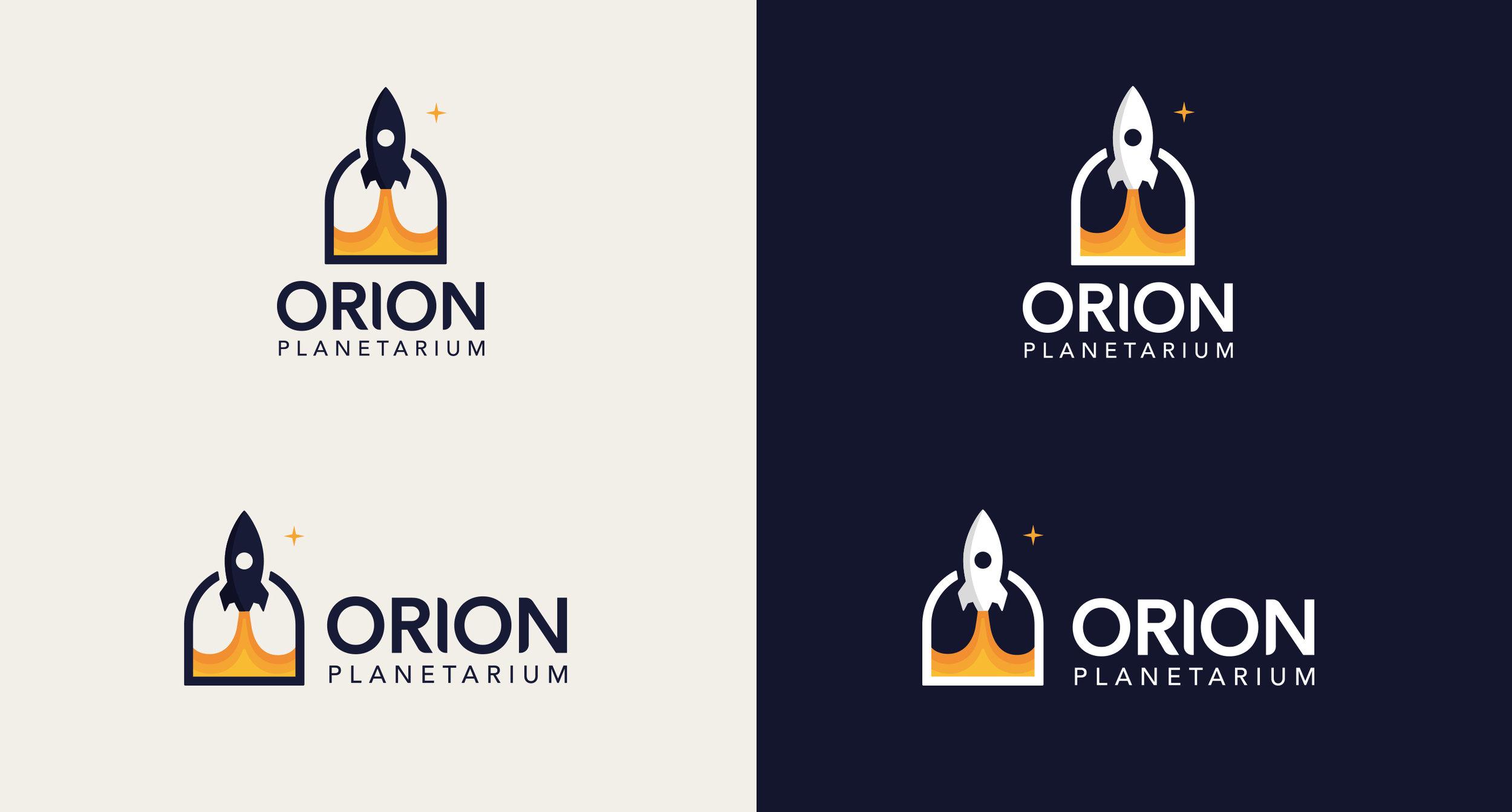 Orion Planetarium Visual Identity Christian Lank