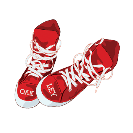 Looking to spread food allergy awareness through your brand? - Download our Red Sneakers Logo and feature it on your website or in your store!