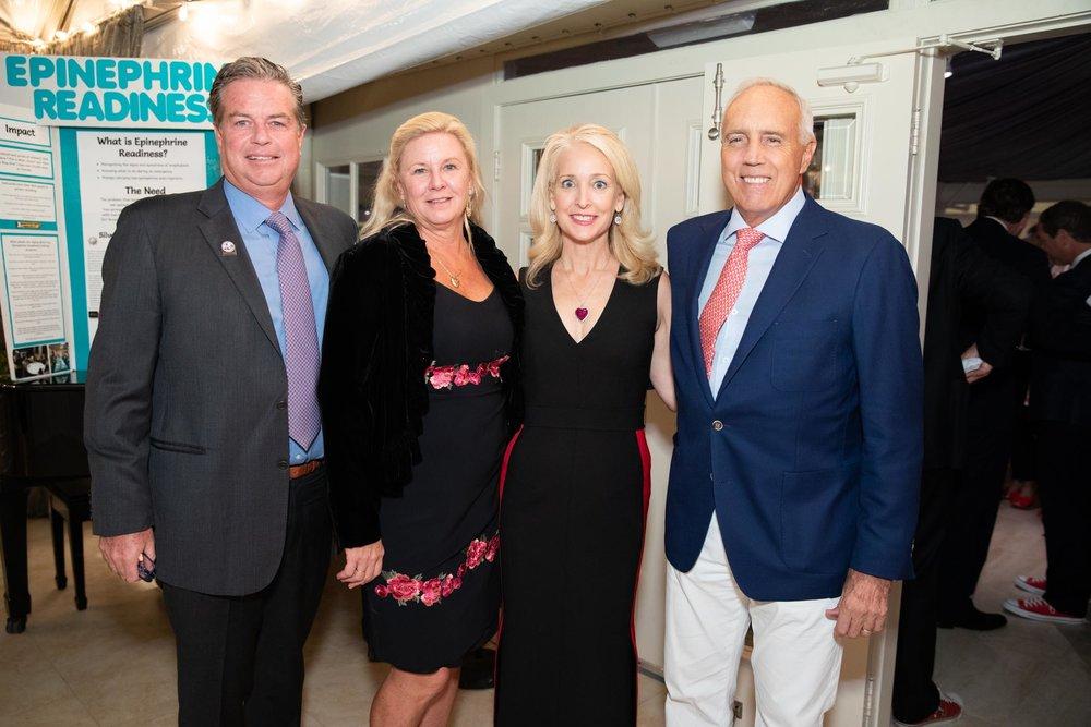 Bobby and Merrill Debbs, Darlene and Jerry Jordan